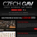 Czech GAV Accounts