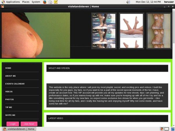 Violetandsteven.modelcentro.com Trial Link