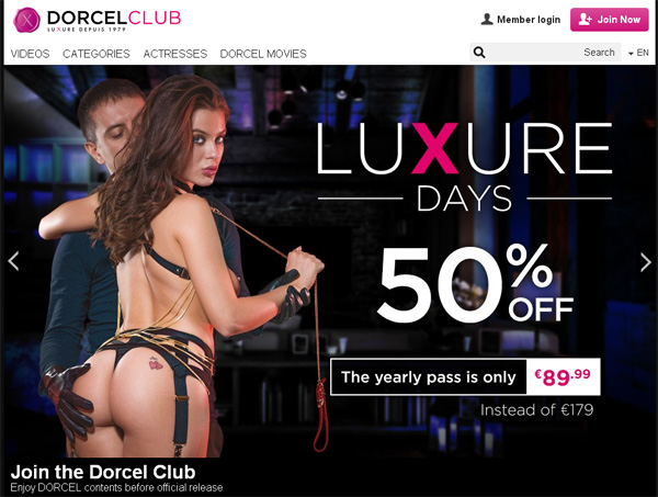 Free Account Of Dorcel Club