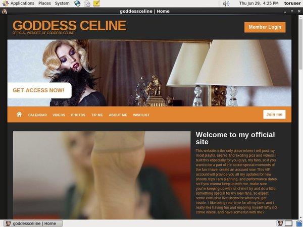 Goddess Celine Clips For Sale