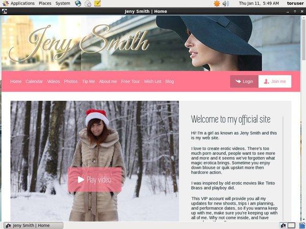 Jenysmith.net In Pantyhose