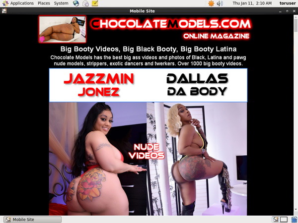 Chocolate Models Order Page