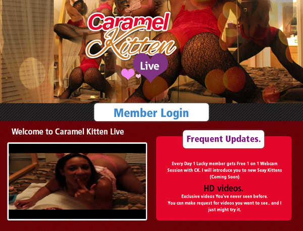 Free Trial Caramelkittenlive.com Membership