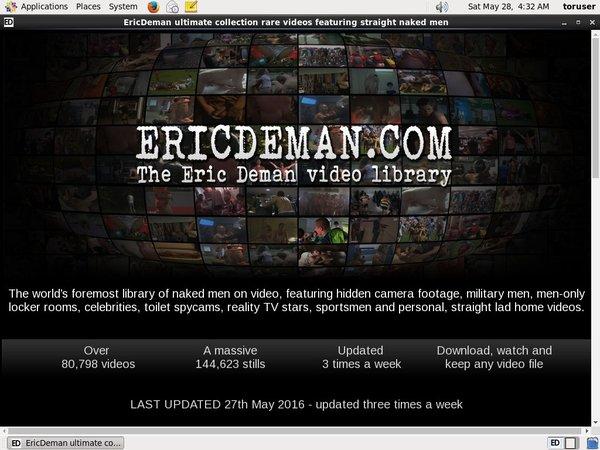 Eric Deman Password 2018