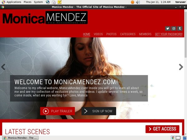 Monica Mendez Limited Promotion
