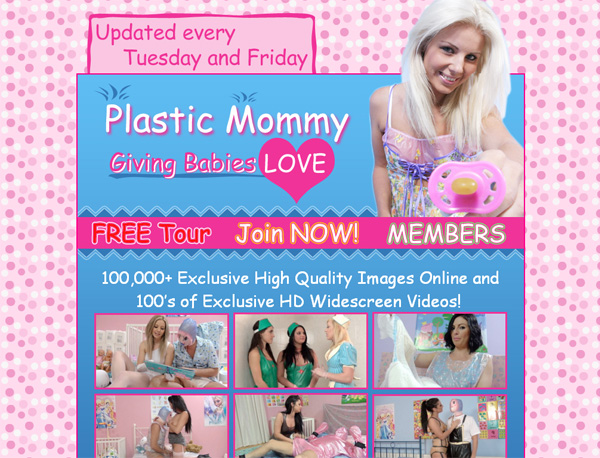 Plastic Mommy With Visa