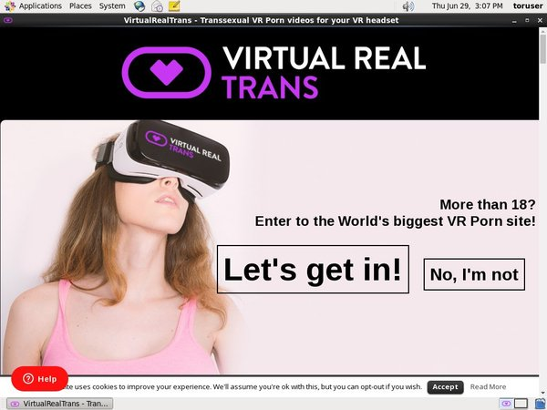 Virtualrealtrans.com Free Sign Up