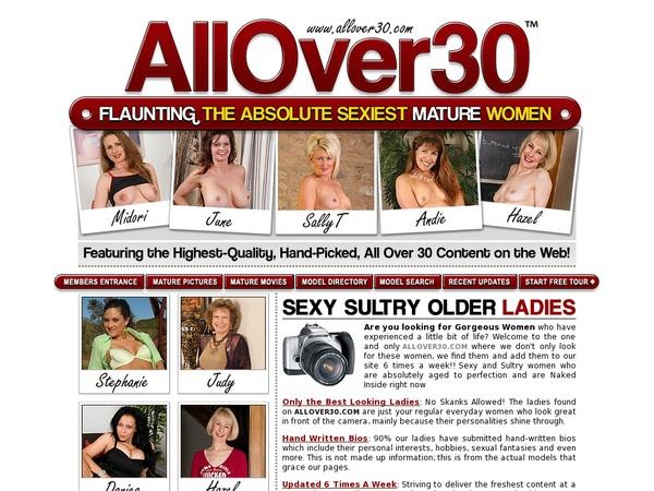 All Over 30 Original Member
