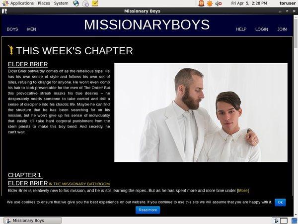 Missionary Boys Logins 2018
